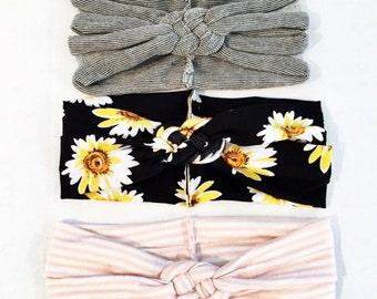 """Essentials """"Sailors Knot"""" headbands"""