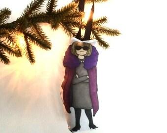 Anna Plush Ornament