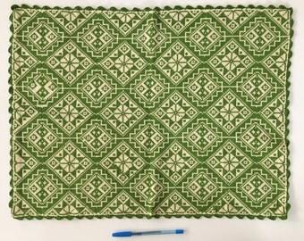 Vintage 1970's Greek Tablecloth