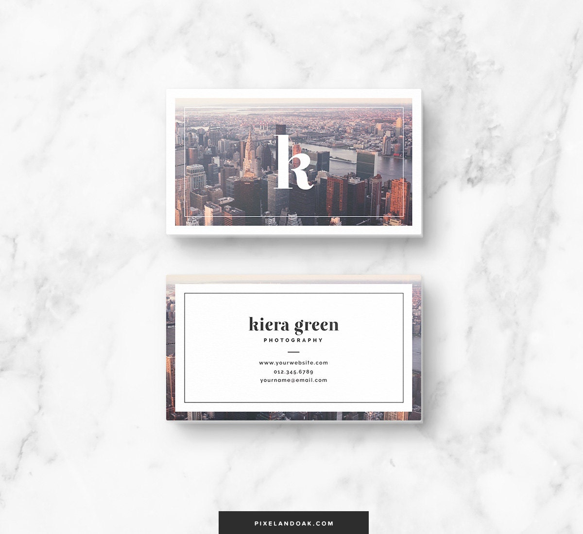 Business Card Design Business Card Template Instant