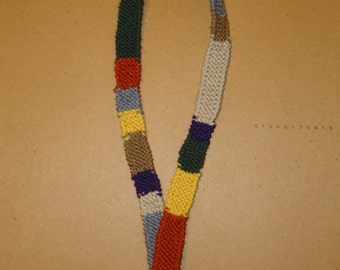 Doctor Who Scarf Lanyard