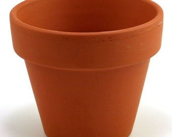 "3 - 7"" Clay Pots - Great for Plants and Crafts"