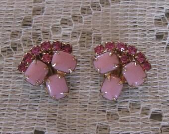 Vintage Leru Clip On Earrings