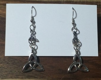 Celtic Knot Tiered and stud earrings