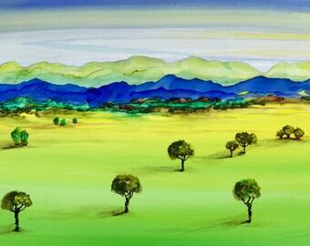Pastoral Trees