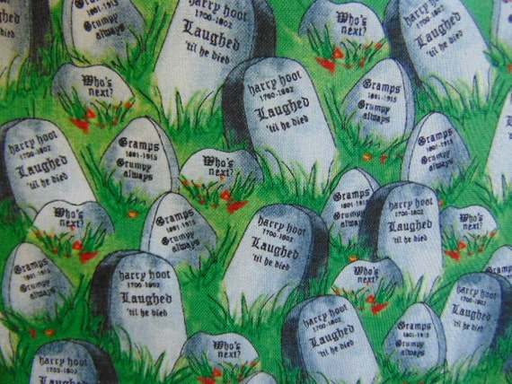 Tomb stones zip bag pouch from jibbyroosews on etsy studio for J bathrooms westcliff