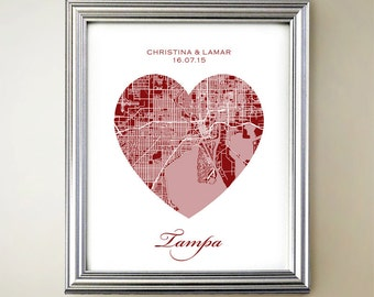 Tampa Heart Map