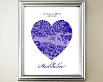 Stockholm Heart Map