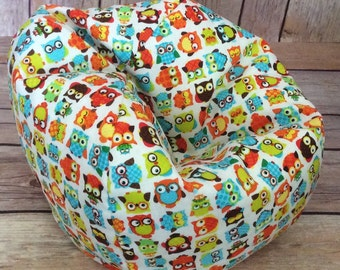 American Doll Or 18 Bean Bag ChairFurnitureGEOMETRIC OWLS