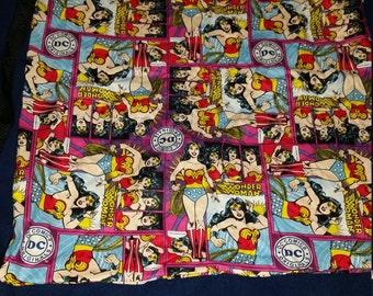 Wonder woman pillowcase bag