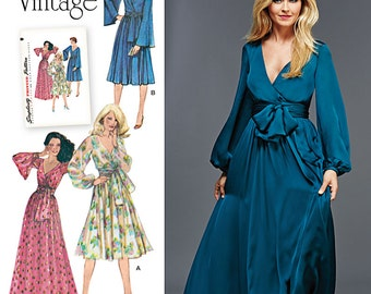 Simplicity Sewing Pattern 8013 Misses' Lined Dress and Sash