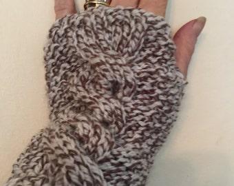 Fingerless gloves or wrist warmers
