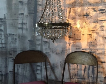 Grey Backdrop ~ 6' x 9' Fabric Backdrop Photo Booth ~ Industrial Wedding Backdrops ~ Industrial Painted Fabric by Love Industrial Living