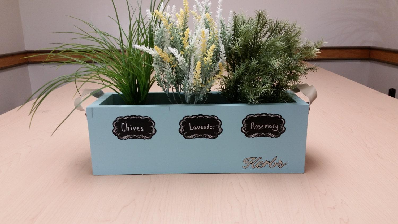 Kitchen Window Box Herb Planter