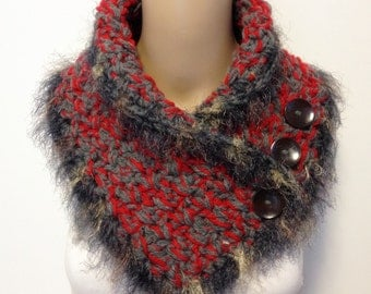 Super Thick Wool Blend Neck Warmer Non Itch