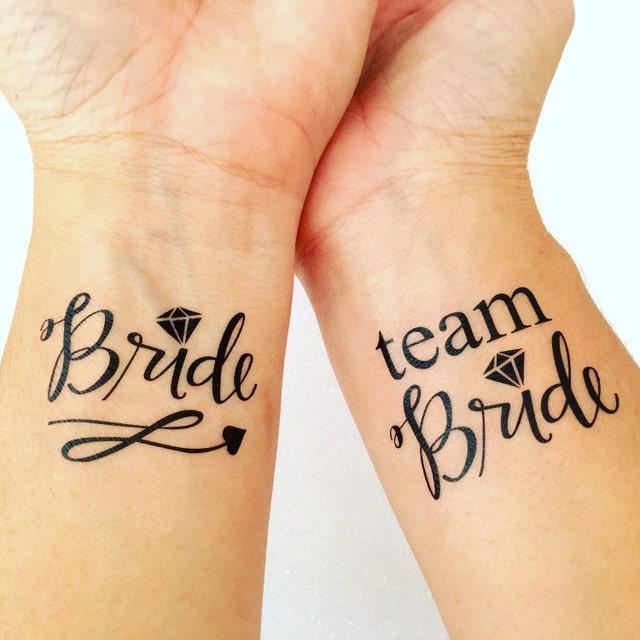 Bachelorette party temporary tattoo favor hen party by for Bachelorette party tattoos