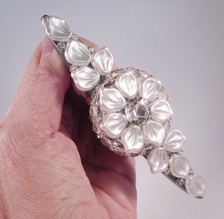 Drawer Pull Swarovski Crystal/Unique Cabinet Pull/Girls Dresser ...
