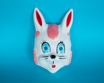 Vintage Rabbit mask Vacuform / 80's