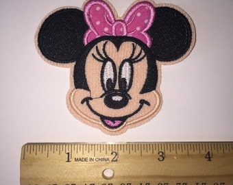 ready to ship Pink Minnie Mouse patch