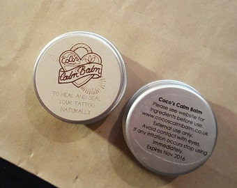 Coco's Calm Balm Tattoo aftercare