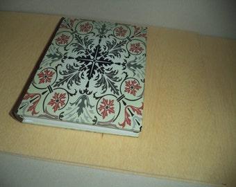 "Green voice""-unique handmade journal"