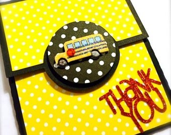 Bus Driver Gift Card Holder