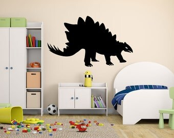Stegosaurus Prehistoric Dinosaur Vinyl Wall Decal