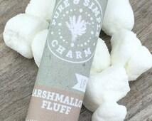 Marshmallow Fluff Lip Balm, Marshmallow Scented Lip Balm, Cocoa Butter Lip Balm, Vanilla Essential Oil, Vanilla Bean, Lip Balm, Lip Care