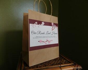 Inspirational Gift Bag - Graduation Gift Bag - Confirmation - Baptism - First Communion - Gift Bag with Handles