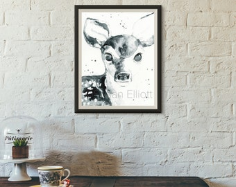 Sweet Fawn Original Artwork