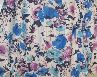 Vintage Haband Womans Flower Top /// Blouse   size P/M