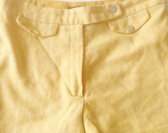 Yellow Boho shorts