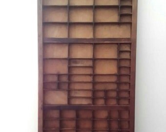 Vintage, Printers / Letterpress Tray, Storage, Collections.