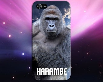 I Did It For Harambe x Gorilla Phone Case Texture iPhone 6 iPhone 6 Plus Tough iPhone Case Galaxy s8 Samsung Galaxy Case Printed CASE ESCAPE