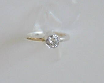 RING Sterling Silver 925/1000 size 55