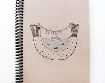 Istanbul Series Spiral Notebook 4