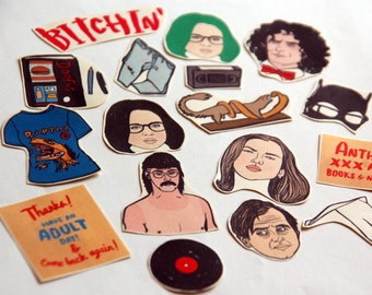 Ghost World Stickers / Magnets