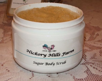 Almond-Vanilla Sugar Body Scrub