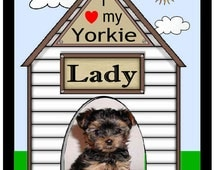 Personalized Dog Pet Photo MAGNET ~ ANY BREED ~ Free Shipping
