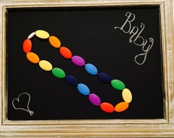 Baby Toddler Silicone Teething Necklace **On Sale Limited Time**