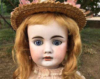 """21"""" Bahr & Proschild 224 Bisque Head Doll All Antique"""