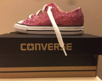 Infant's Jeweled Converse Sneakers