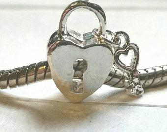 Key to My Heart European Charm-126B