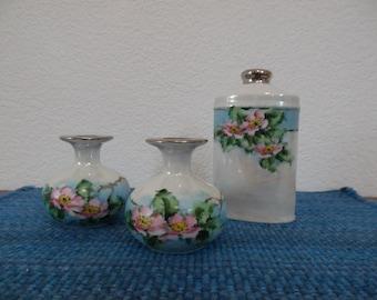 Schlegelmilch Porcelain Dresser Set