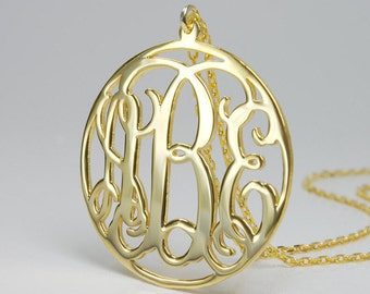Personalized Monogram Necklace (G)