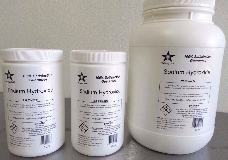 Sodium Hydroxide 98% Pure Microbeads Caustic Soda Lye FCC/
