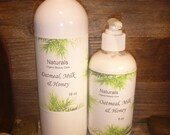 Oatmeal, Goats Milk, Honey Organic, Natural & Soothing True Oatmeal Lotion