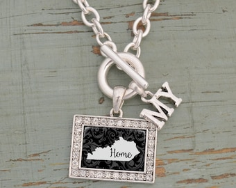 My Home Kentucky Toggle Necklace - 57583KY