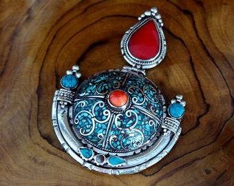 Exquisite Tibetan Pendant