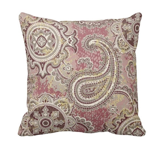 Houssie Mulberry Zippered OUTDOOR Throw Pillow Cover by Primal